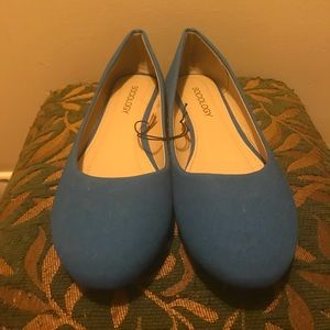 Shoes - Brand new!!! Sociology blue flats
